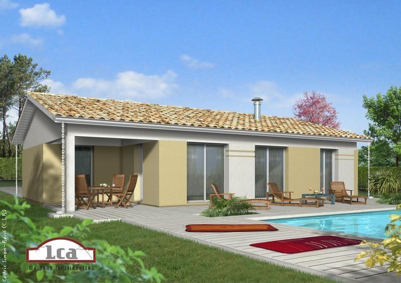 Maison  5 pièces + Terrain 739 m² Le Houga (32460) par LES MAISONS LCA MONT DE MARSAN