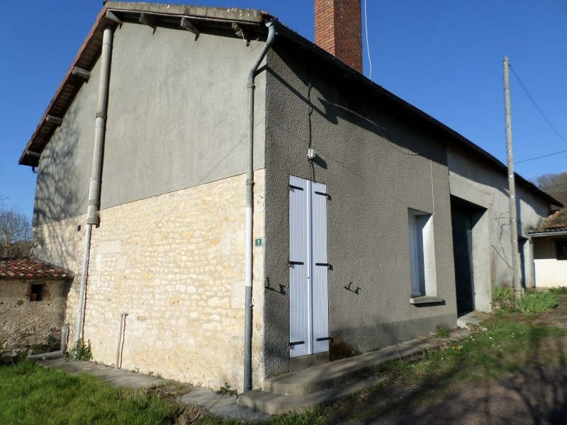 Vente maison / villa Civaux 40 000€ - Photo 1