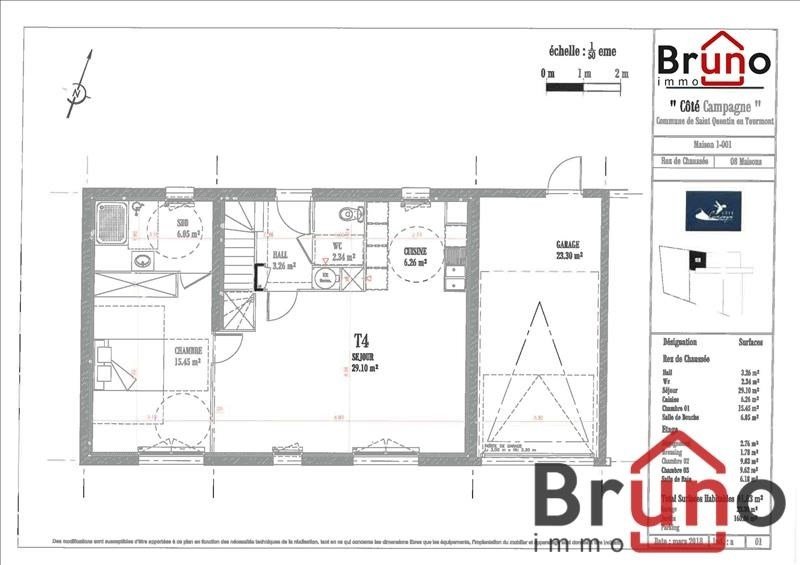 Verkoop  huis St quentin en tourmont 320000€ - Foto 5