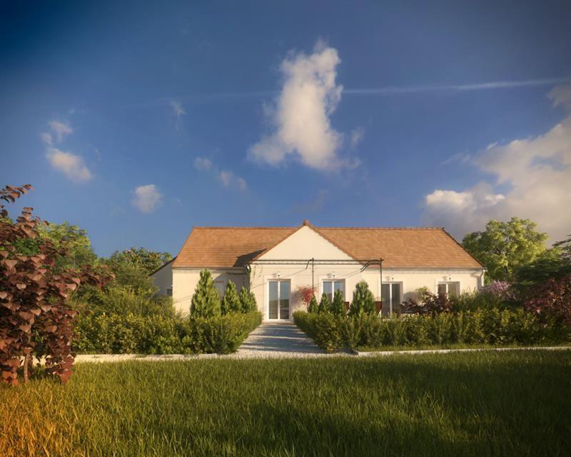 """Modèle de maison  """"Cachemire 4.133"""" à partir de 6 pièces Val-d'Oise par A&A CONSEIL"""