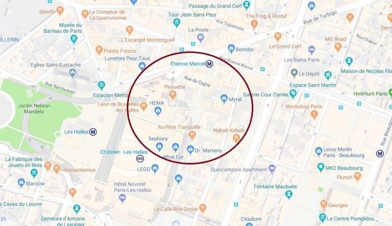 Location local commercial Paris 1er 3200€ HT/HC - Photo 1