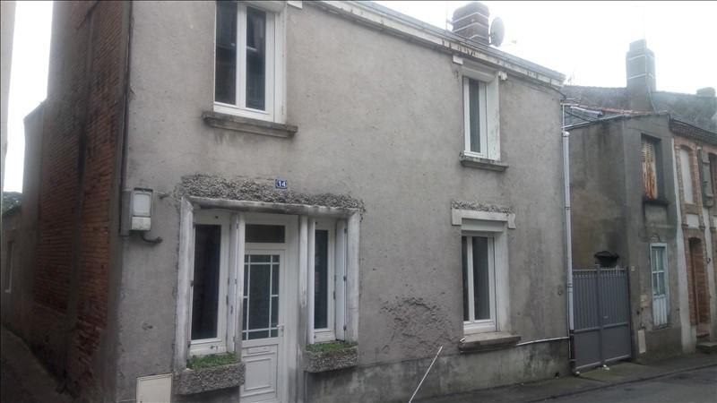 Vente maison / villa Le may sur evre 40000€ - Photo 1