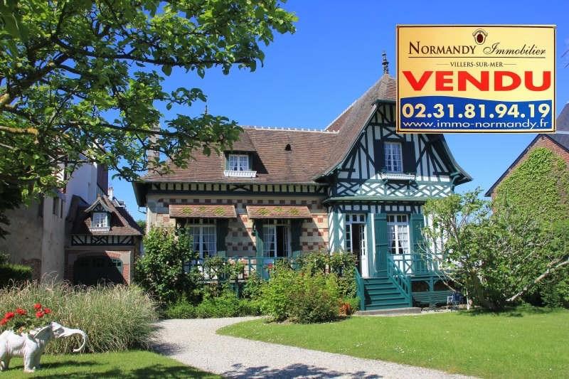 Deluxe sale house / villa Villers sur mer 850000€ - Picture 1