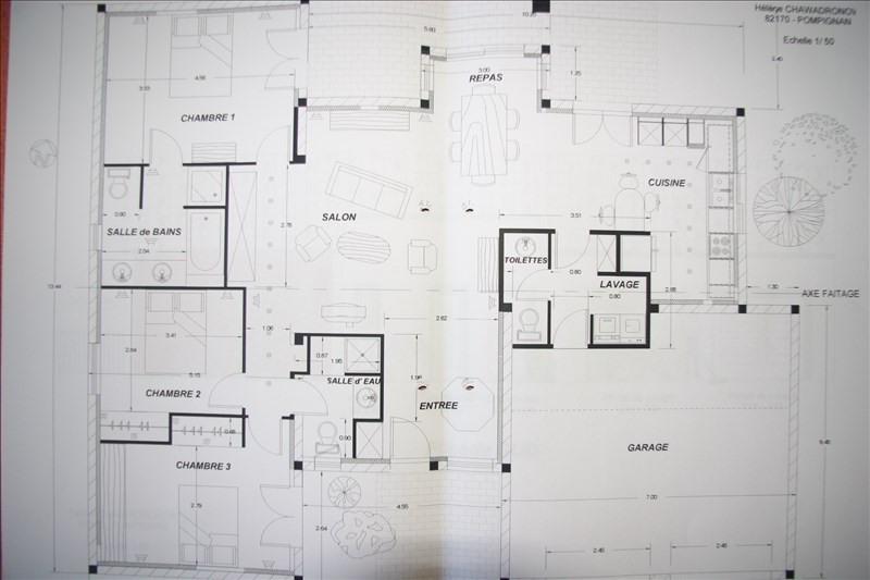 Sale house / villa Pompignan 369000€ - Picture 3