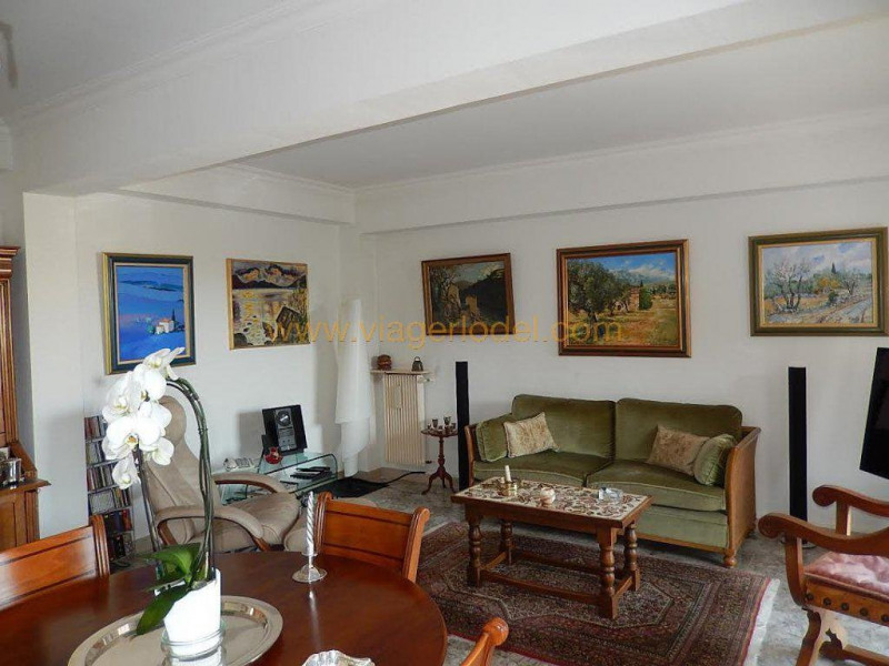 Life annuity apartment Menton 125 000€ - Picture 1