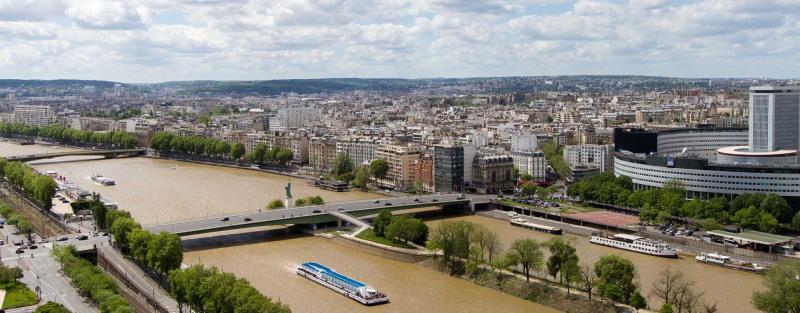 Vente appartement Paris 15ème 575000€ - Photo 1