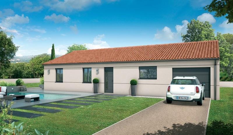 Maison  5 pièces + Terrain 535 m² Sainte-Eulalie par MAISONS SANEM