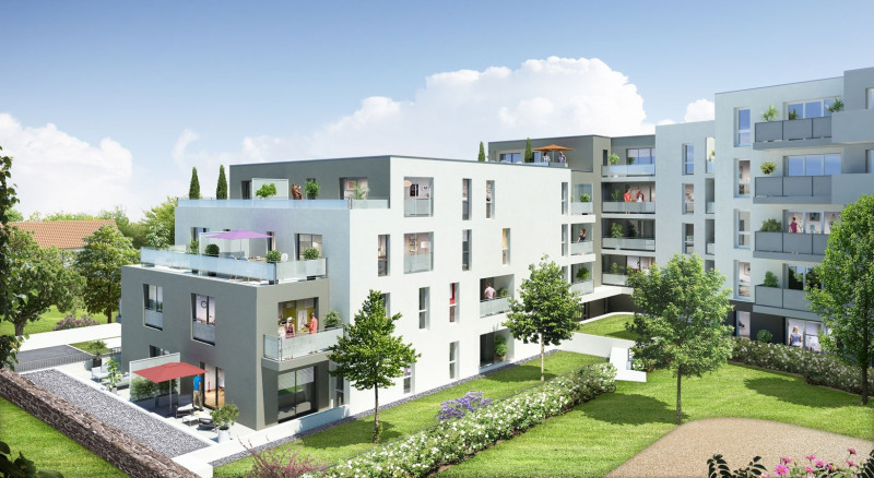 Les terrasses enchant es programme immobilier neuf saint for Promoteur immobilier neuf