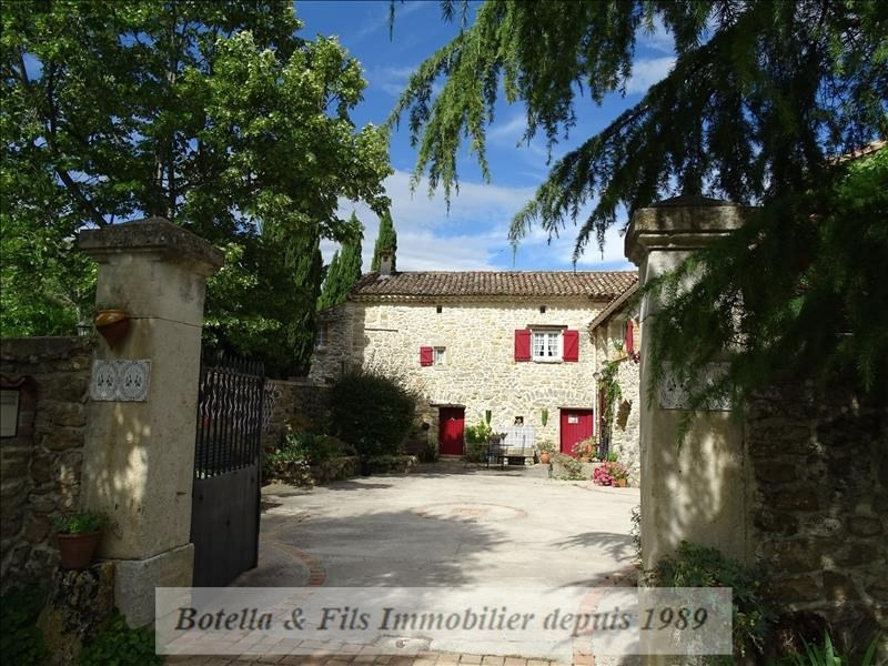 Deluxe sale house / villa Uzes 435 000€ - Picture 1