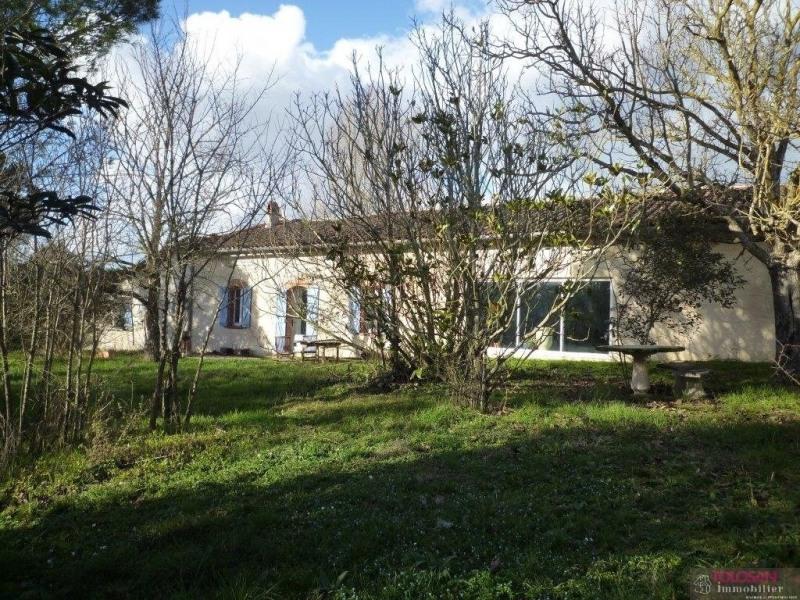 Lauragaise – evolutive – cachet – garage 85 m²- terrain 6500 m²