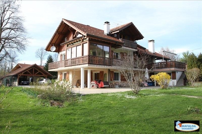 Vente maison / villa Mont saxonnex 525000€ - Photo 1