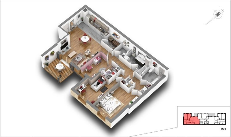 Vente appartement Courbevoie 818000€ - Photo 4