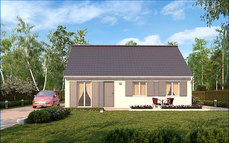 Maison  5 pièces + Terrain 750 m² Beauvais (60000) par MAISONS PIERRE
