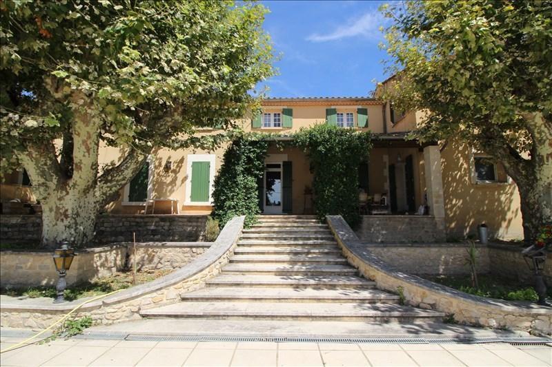 Revenda residencial de prestígio casa Aramon 900000€ - Fotografia 1