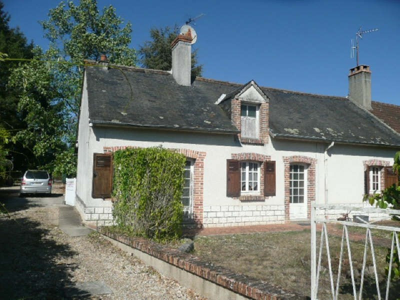 Sale house / villa Menetreol sur sauldre 80000€ - Picture 1