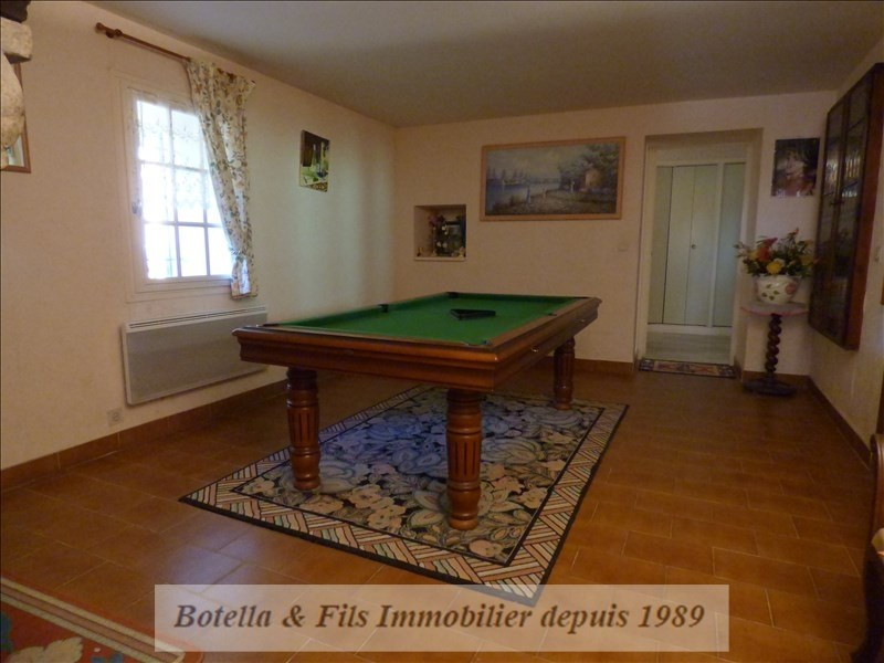 Sale house / villa Barjac 473700€ - Picture 7