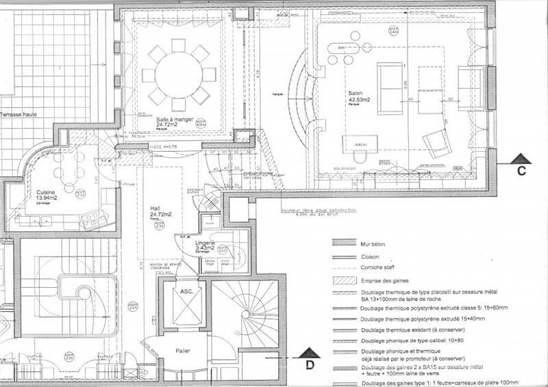 Revenda residencial de prestígio apartamento Paris 7ème 6900000€ - Fotografia 11