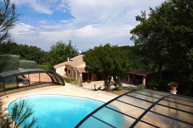 Vente de prestige maison / villa St paulet de caisson 560000€ - Photo 3