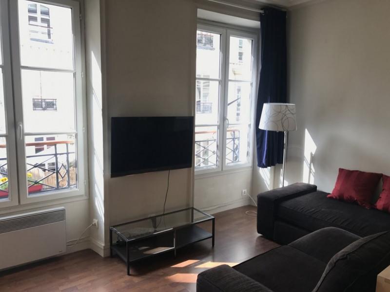 Rental apartment Paris 10ème 1106€ CC - Picture 1