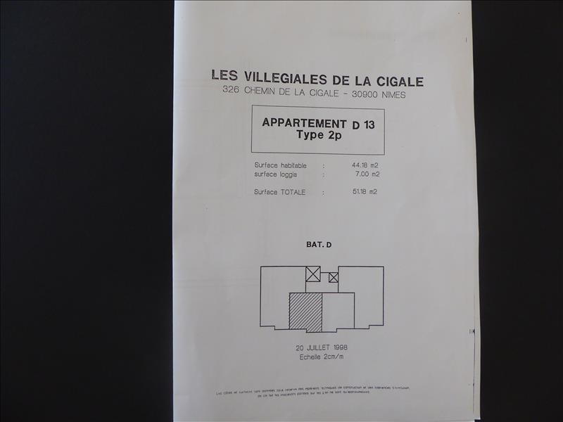 Sale apartment Nimes 153000€ - Picture 5