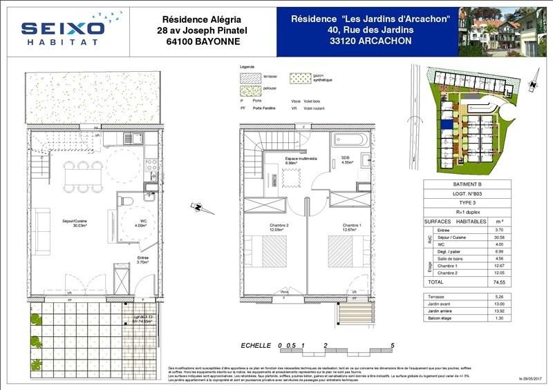 Vente maison / villa Arcachon 293000€ - Photo 3