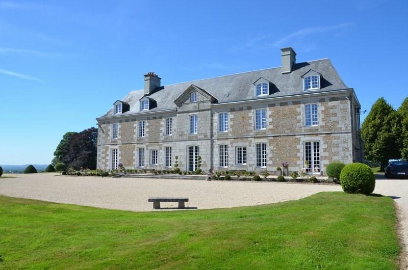 Venta de prestigio  castillo Villedieu les poeles 1950000€ - Fotografía 1