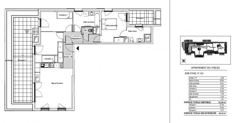 Vente appartement Gardanne 346000€ - Photo 3