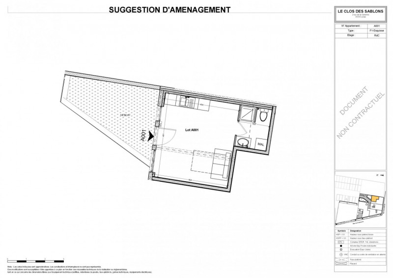 Sale apartment Linas 98123€ - Picture 4