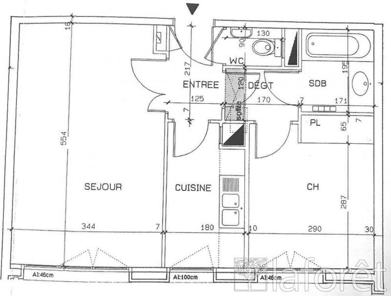 Location appartement Levallois perret 1480€ CC - Photo 1