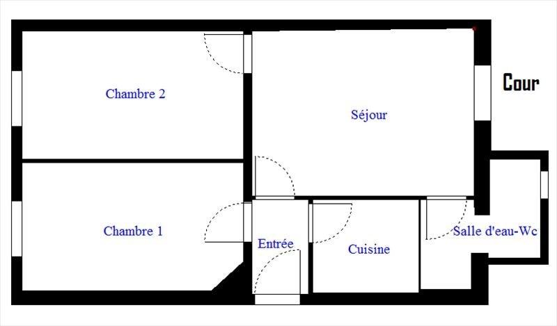 Sale apartment Vanves 222600€ - Picture 6