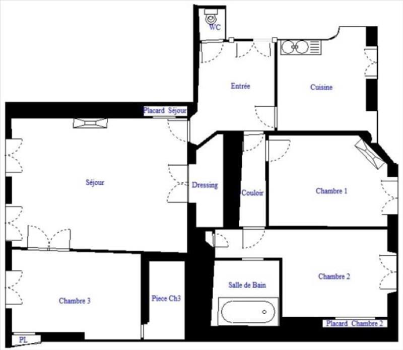 Revenda apartamento Paris 18ème 610000€ - Fotografia 10