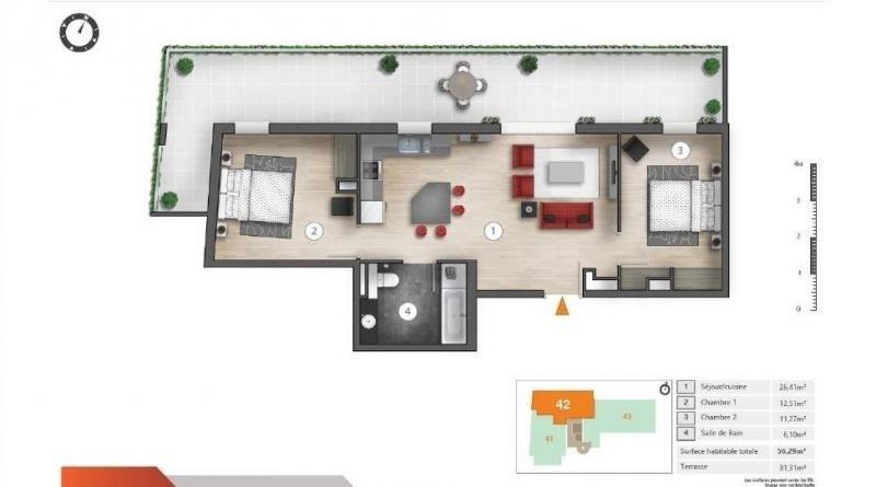 Sale apartment Montpellier 180000€ - Picture 6