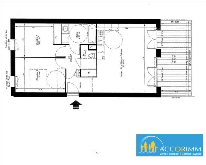 Sale apartment Mions 245000€ - Picture 1