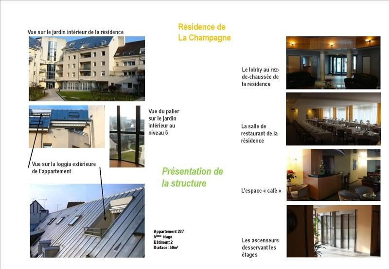 Investment property apartment Troyes 79000€ - Picture 8