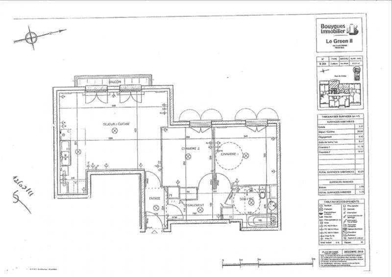 Affitto appartamento Buc 1106€ CC - Fotografia 2