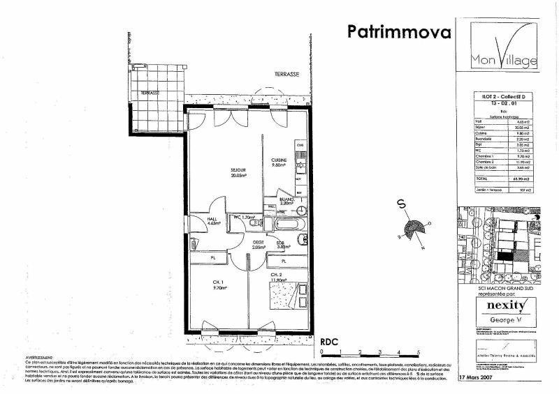 Location appartement Macon 616€ CC - Photo 2