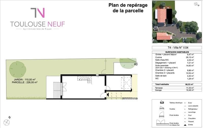 Vente maison / villa Tournefeuille 297900€ - Photo 7