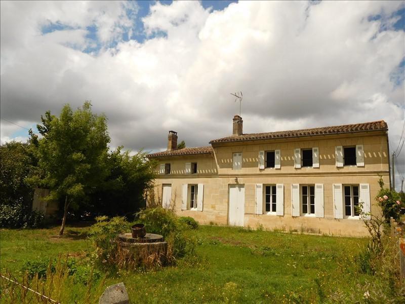 Rental house / villa Gauriaguet 851€ CC - Picture 1