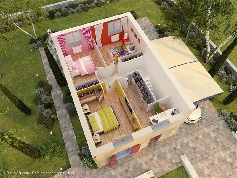 Maison  5 pièces + Terrain 700 m² Villeroy par MAISONS PIERRE