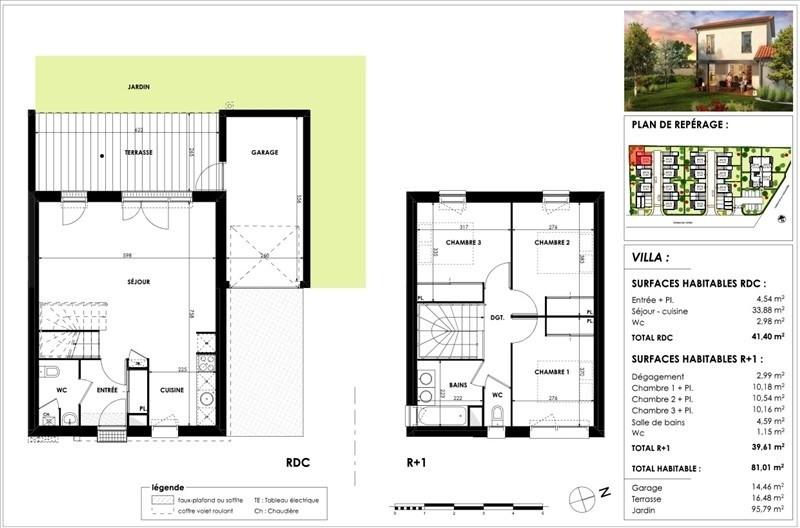 Vente maison / villa Cugnaux 298500€ - Photo 8