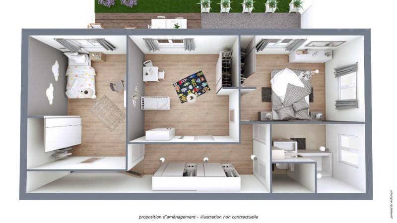 Vente maison / villa Bouillargues 175000€ - Photo 14