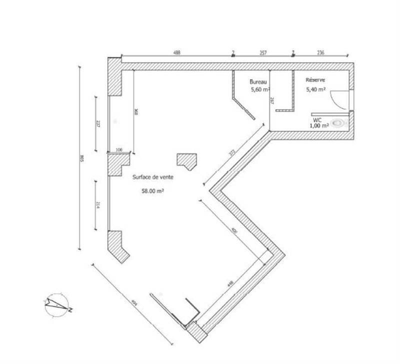 Location Boutique Levallois-Perret 0