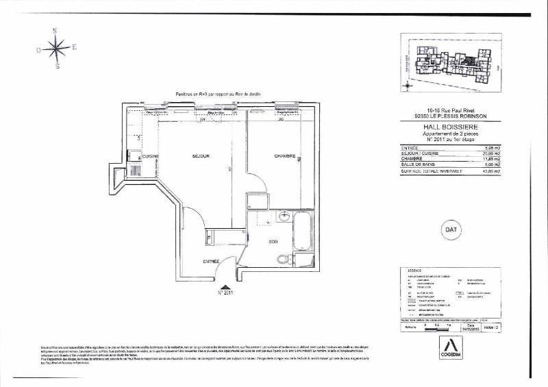 Location appartement Le plessis robinson 920€ CC - Photo 4
