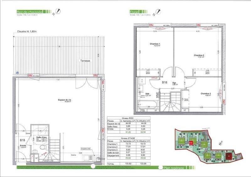 Sale apartment Gaillard 240000€ - Picture 3