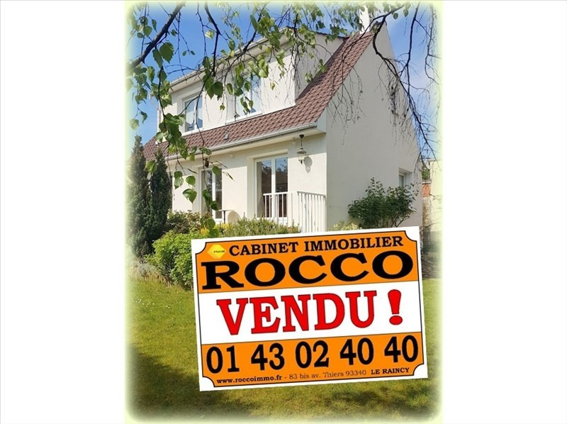 Vente maison / villa Livry gargan 372000€ - Photo 1