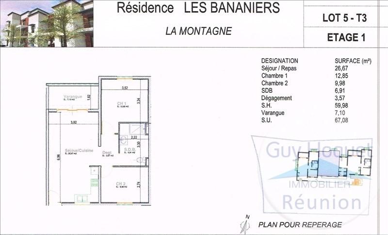 Vente appartement La montagne 196000€ - Photo 1