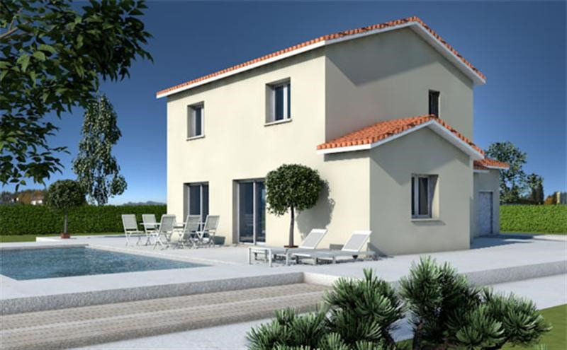 Maison  5 pièces + Terrain 400 m² Belleville par MAISONS ARLOGIS