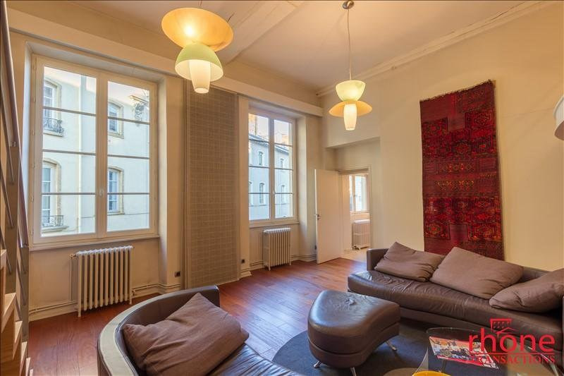 Venta  apartamento Lyon 1er 515000€ - Fotografía 2