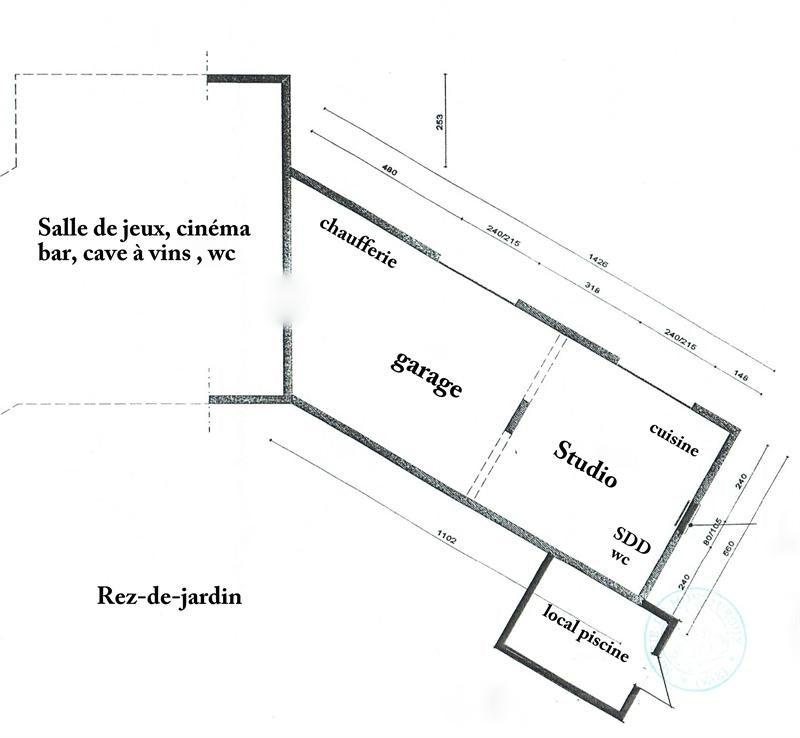 Revenda residencial de prestígio casa Montauroux 949000€ - Fotografia 48