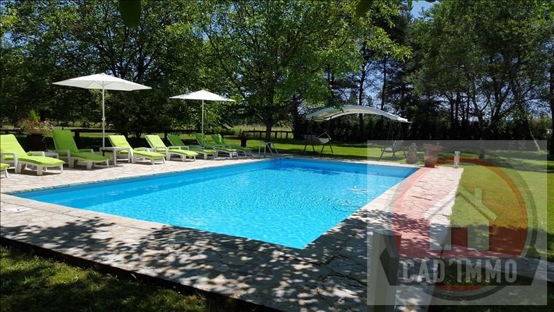 Vente de prestige maison / villa St germain et mons 551000€ - Photo 5
